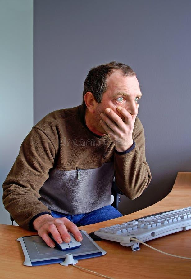 Download Disbelieve stock image. Image of computer, internet, bulging - 2108285