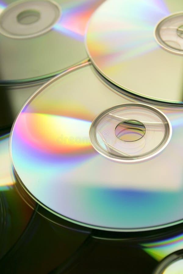 Disc background stock image
