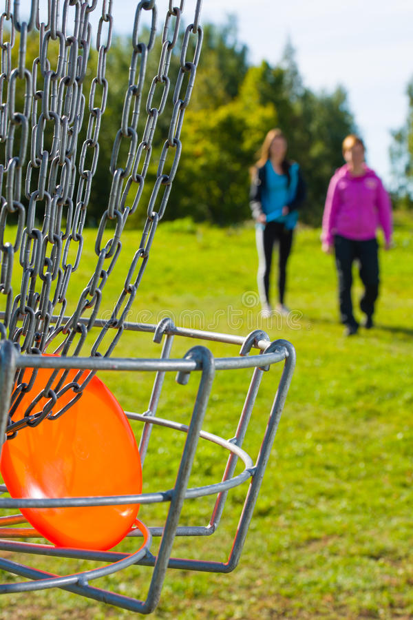Disc In Basket Stock Image