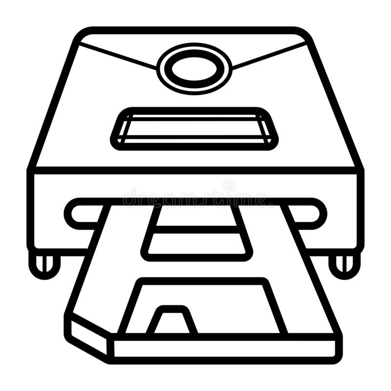 Disc drives icon royalty free illustration