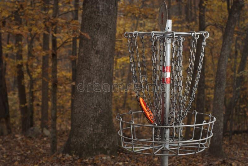 Disc Golf stock photo