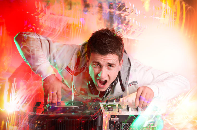 Download Disc Jockey stock photo. Image of party, mixer, turntable - 17227504