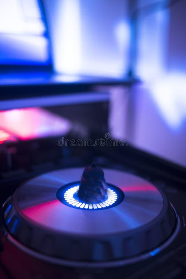 Disc-jockey du DJ à la noce images stock