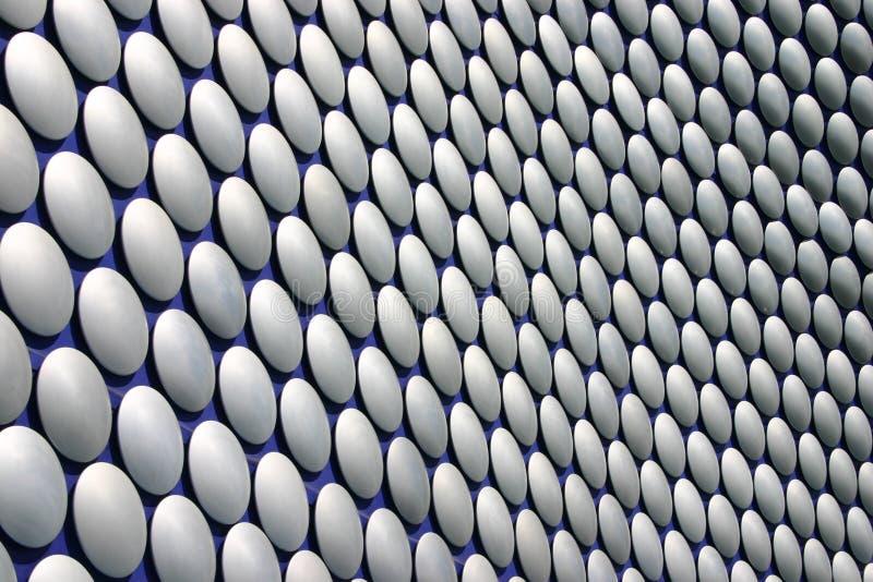 Disc pattern selfridges. Disc pattern on outside of Selfridges Birmingham royalty free illustration
