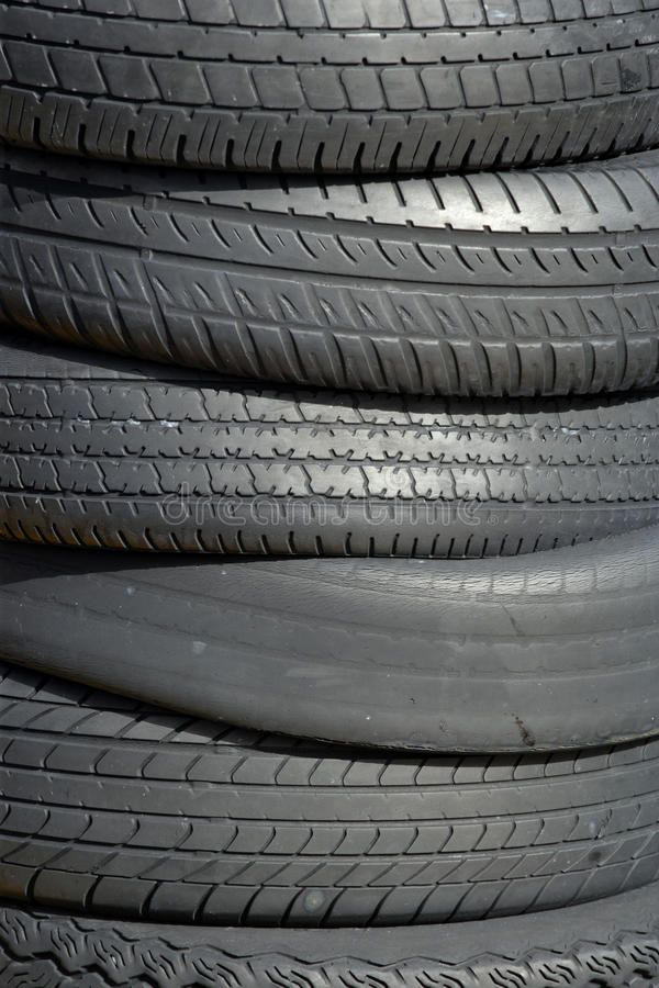 Download Discarded tires stock image. Image of stacked, dirty - 19541143