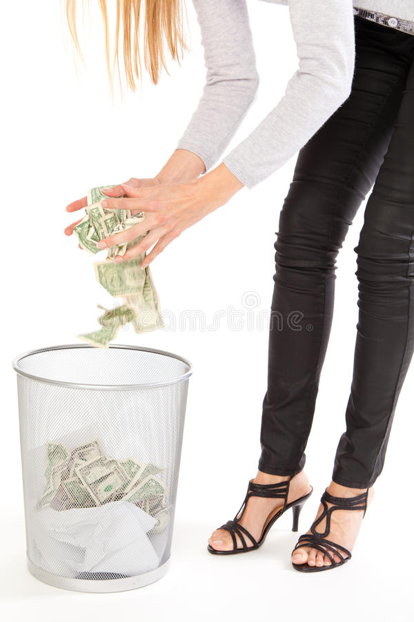 Free Discarding Money Stock Images - 21269044