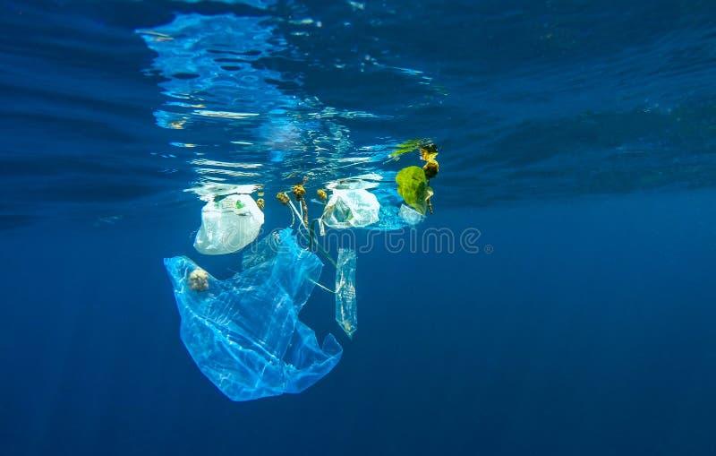 Discared plast- arkivfoto