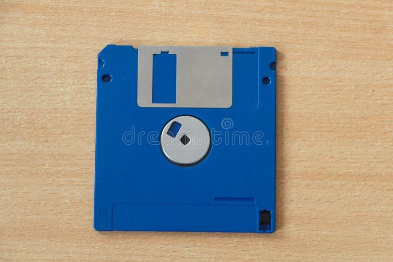Dischetto di computer blu immagini stock
