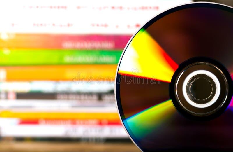 Dischi di DVD fotografie stock libere da diritti
