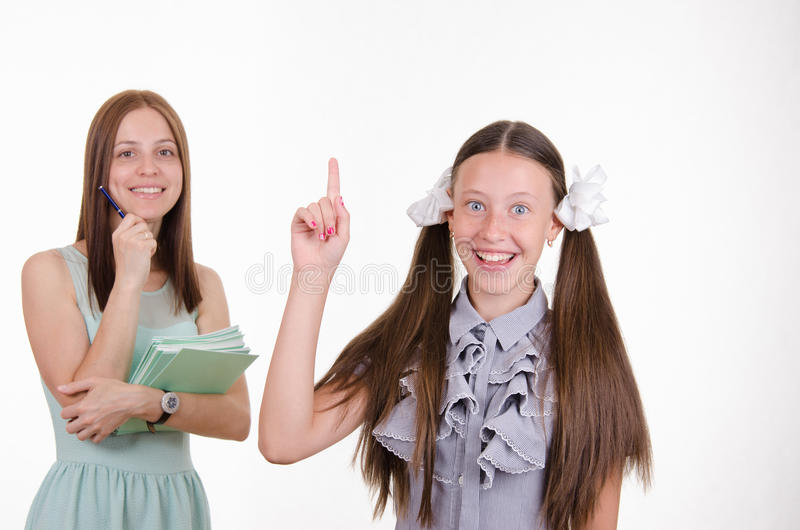 The disciples came a great idea royalty free stock images