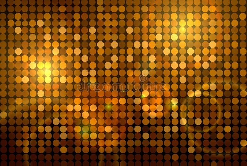 Download Disco ανασκόπησης χρυσό απεικόνιση αποθεμάτων. εικονογραφία από αντανάκλαση - 13179913