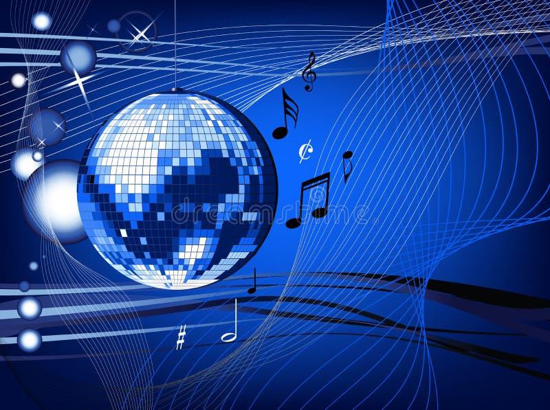 disco σφαιρών διανυσματική απεικόνιση