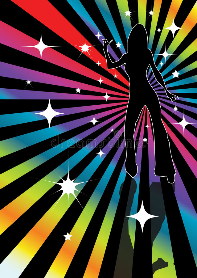 Disco illustration libre de droits