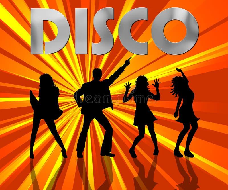 Disco ilustração royalty free