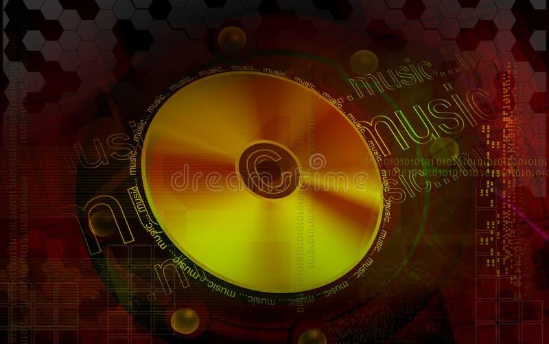Disco ilustração do vetor