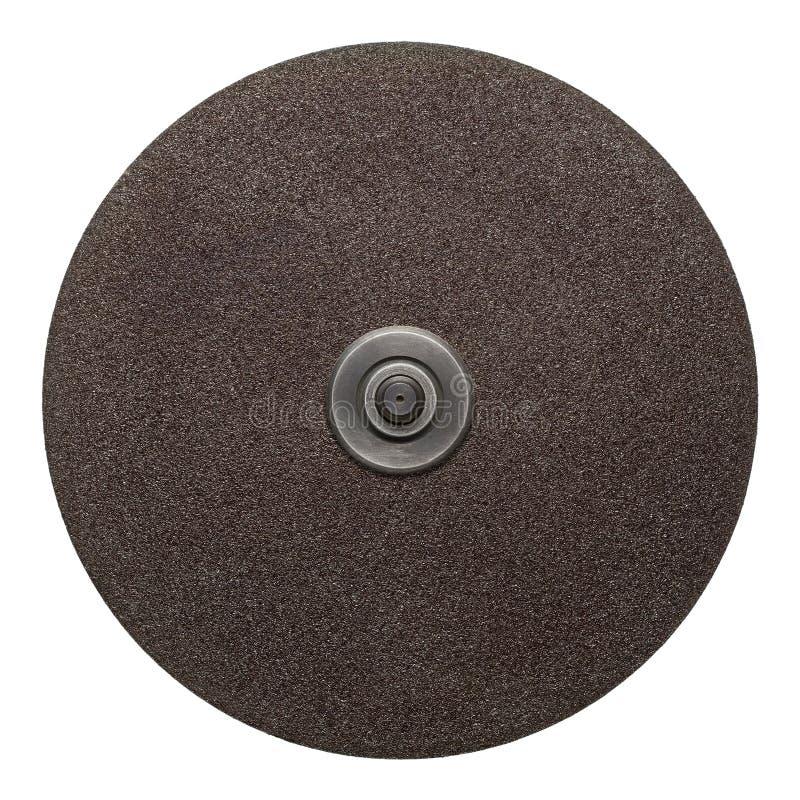 Disco abrasivo immagine stock