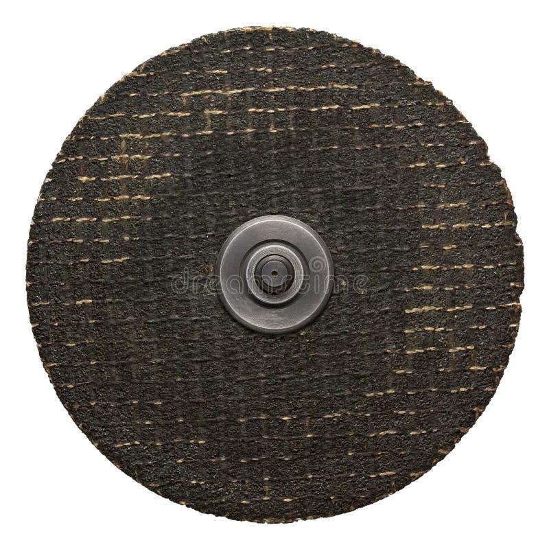 Disco abrasivo fotografia stock