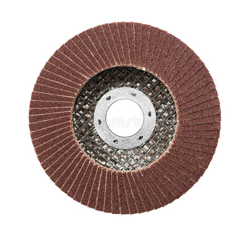 Disco abrasivo para la amoladora imagen de archivo libre de regalías