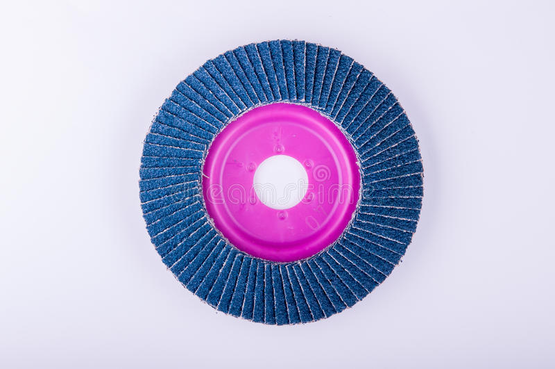 Disco abrasivo para la amoladora foto de archivo libre de regalías