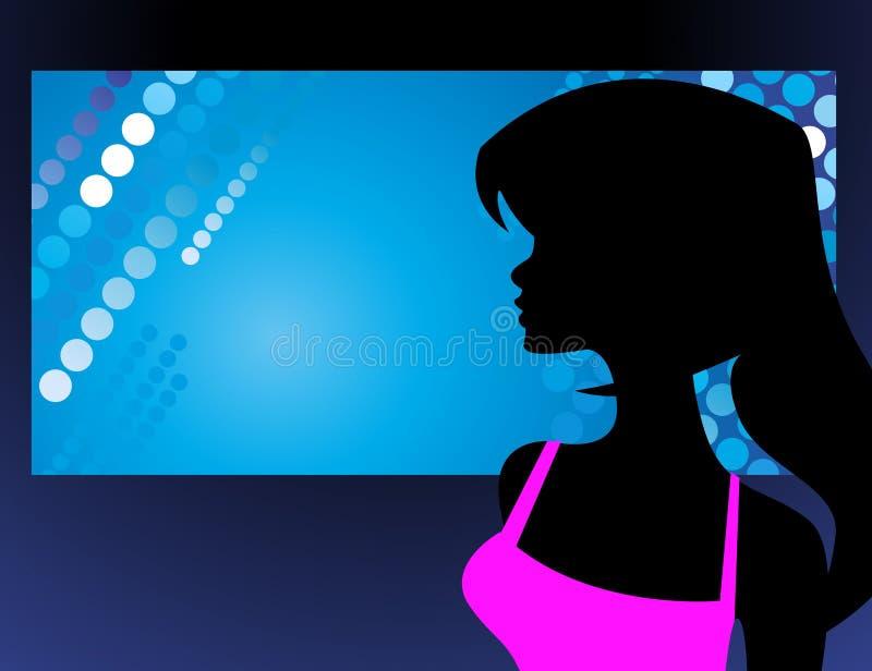 Disco background vector illustration