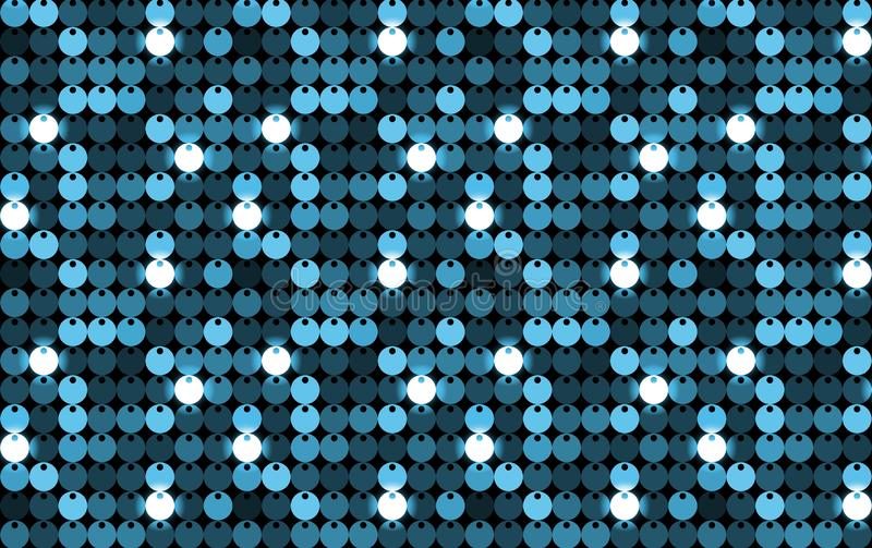 Disco background. Design style. Illustration. Disco background design style illustration club blue white light bright creation concept graphic new luxury modern stock images
