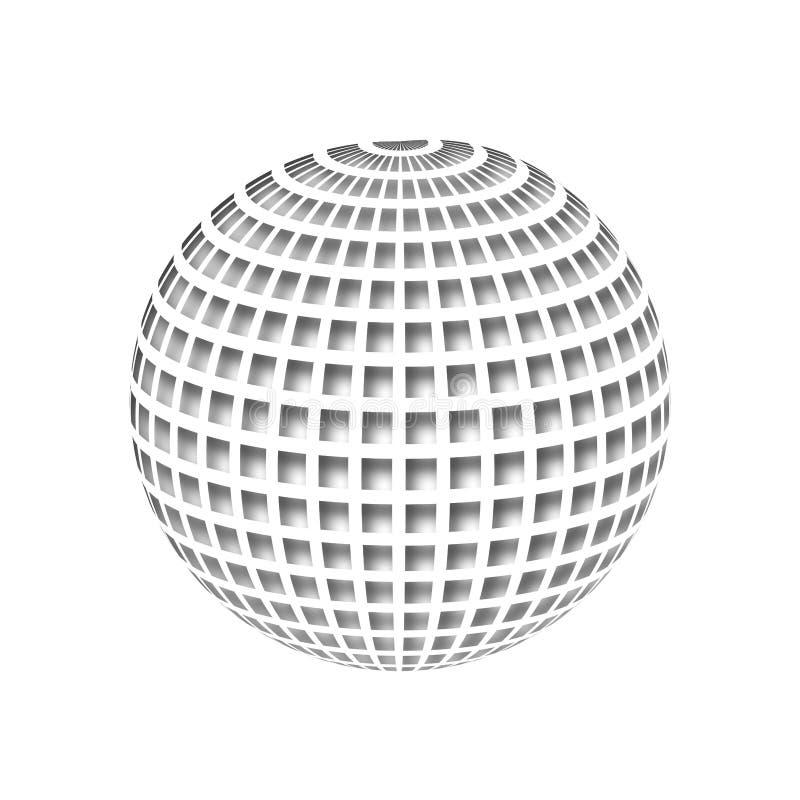 Disco ball stock illustration