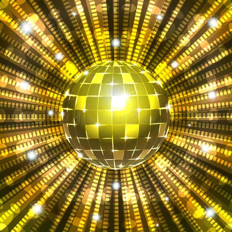 Disco ball vector illustration