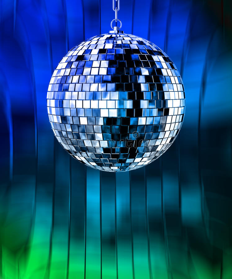 Download Disco ball with lights stock illustration. Image of discotheque - 11234872