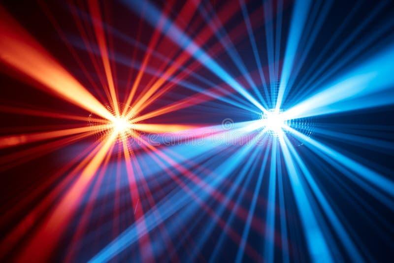 Disco beleuchtet Hintergrund lizenzfreie stockfotografie