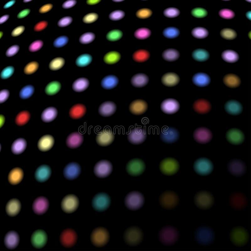 Disco beleuchtet Hintergrund vektor abbildung