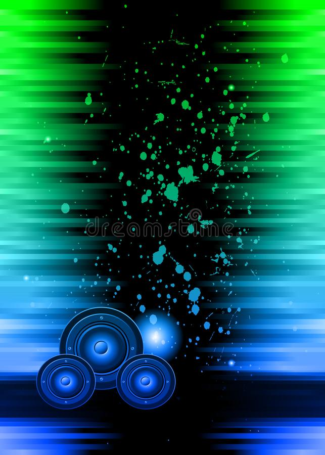 Disco club flyer. vector illustration