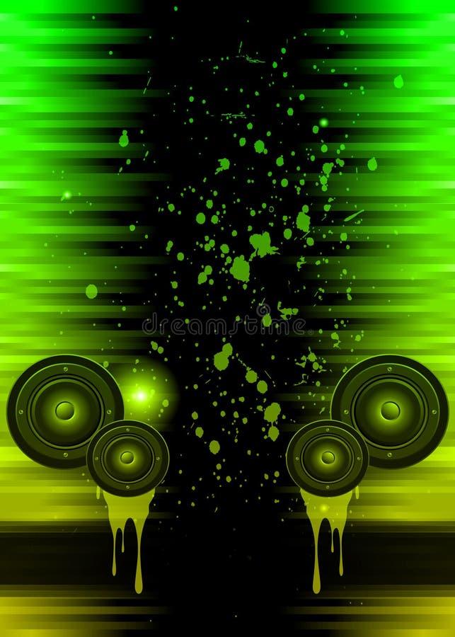 Disco club flyer. stock illustration