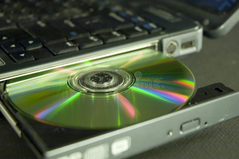 Disco compacto fotografía de archivo