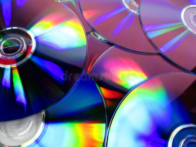 Disco compacto 2 fotos de stock