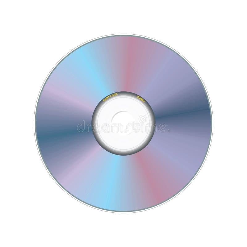 Disco compacto ilustração stock