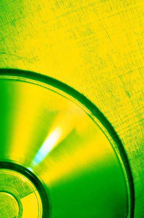 Disco compacto imagen de archivo libre de regalías