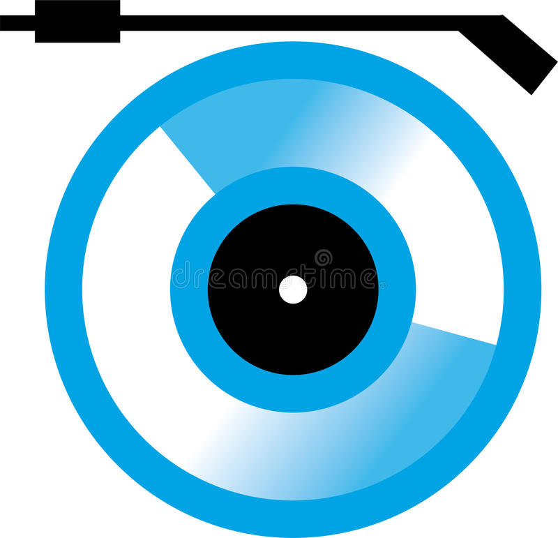 Disco compatto immagine stock