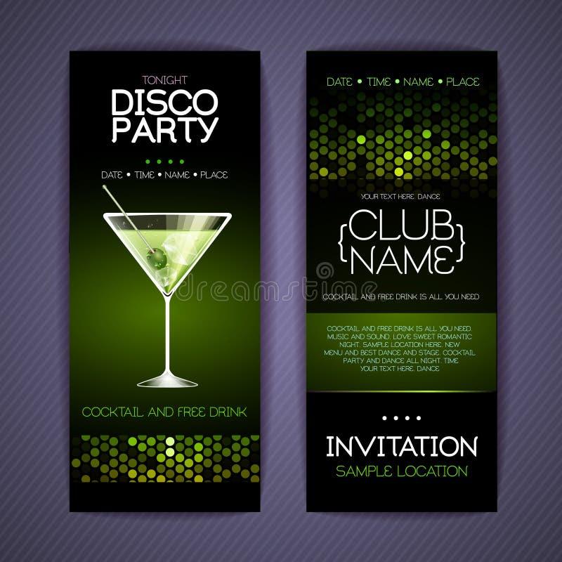 Disco Corporate identity templates. vector illustration