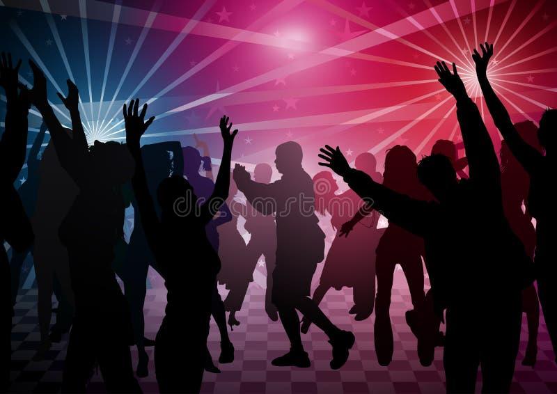 Disco Dance royalty free illustration