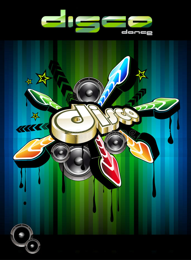 Download Disco Dance Event Background Stock Vector - Illustration of global, backdrop: 13192087