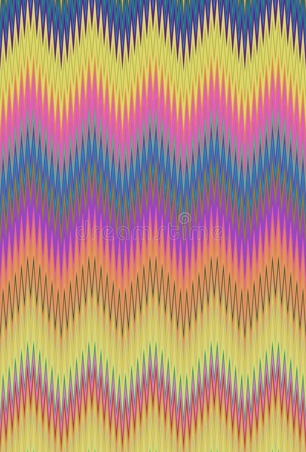 Disco dance party. Chevron zigzag wave pattern abstract art background trends. Disco dance party. Chevron zigzag wave pattern abstract art background, color vector illustration