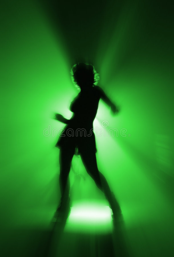 Disco dancer royalty free stock photo