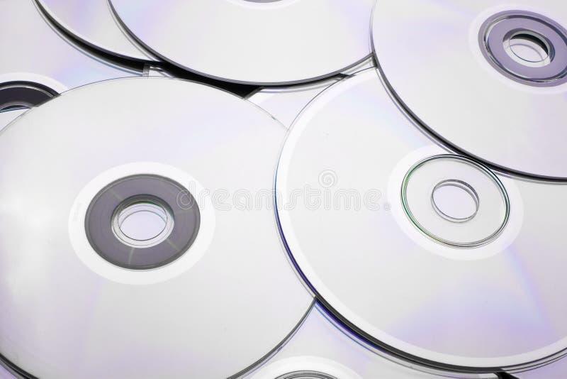 Disco de CD-DVD imagens de stock