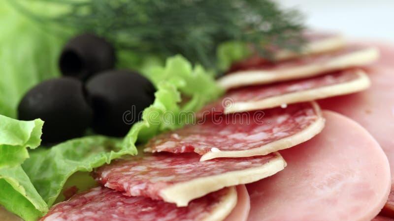 Disco de la carne fotos de archivo