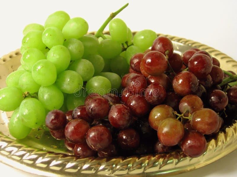 Disco de uvas imágenes de archivo libres de regalías