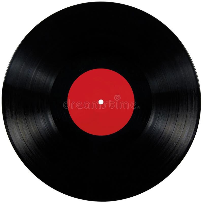 Disco Del álbum Del Lp Del Expediente De Negro Vinilo, Espacio Rojo ...
