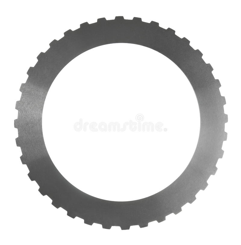 Disco del acero del embrague de fricción imágenes de archivo libres de regalías