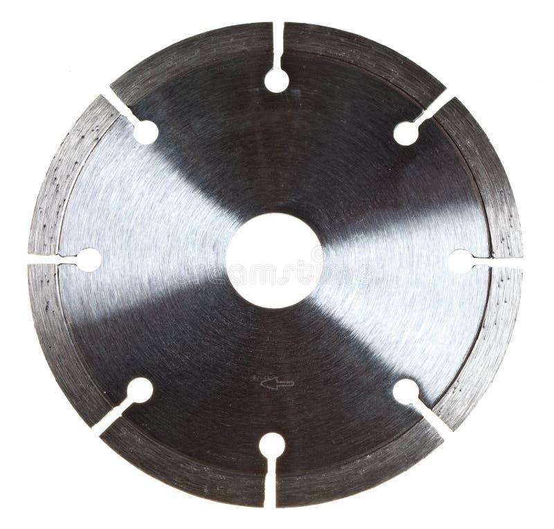 Disco del diamante del segmento en un fondo blanco imagen de archivo libre de regalías