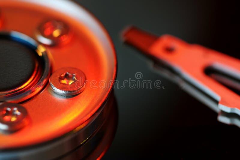 Disco del disco duro foto de archivo libre de regalías