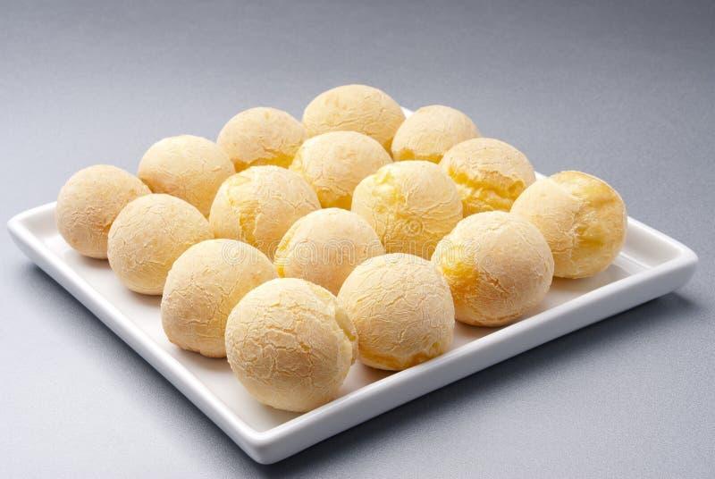 Disco del pane del formaggio fotografie stock libere da diritti